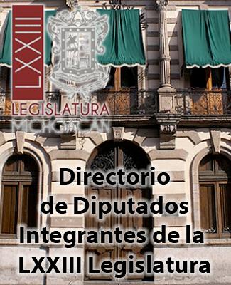 Directorio de Diputados Locales de Michoacán
