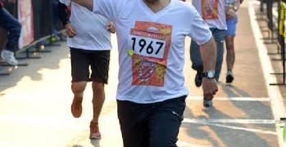 Participa Salvador Abud en Carrera Corre por Morelia