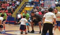 Con Exito Inició la Clínica de Baloncesto del ex NBA Horacio Llamas en Morelia