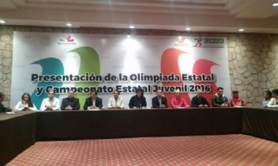 Campeonato y Olimpiada Estatal Juvenil 2016