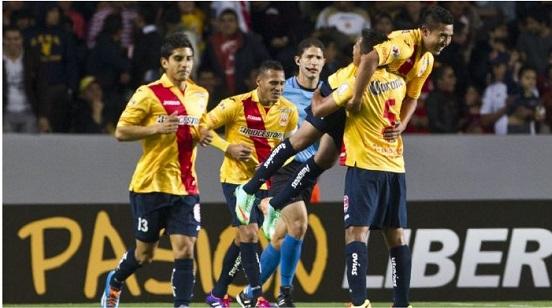 Monarcas Gana por la Mínima Diferencia en el Repechaje de la Libertadores
