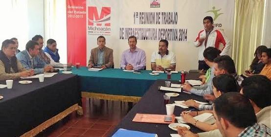 Gobierno Estatal y Municipios Trabajan para Aplicar Recursos del Programa de Infraestructura Deportiva de la CONADE