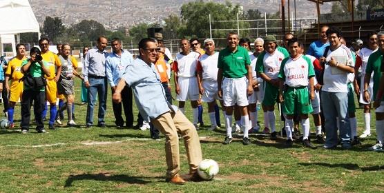 Futbol Veteranos Platino