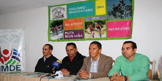 IMDE Organiza Cuarta Etapa del Campeonato Nacional de Ciclismo de Montaña
