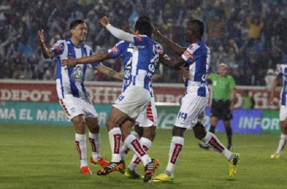 Pachuca Gana 2 a 0 al Santos