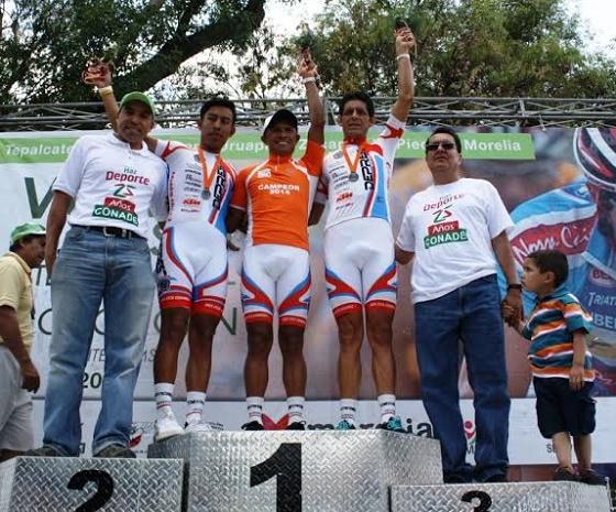 IMDE Anfitrión de Ultima Etapa de la Vuelta Ciclista Michoacán 2014