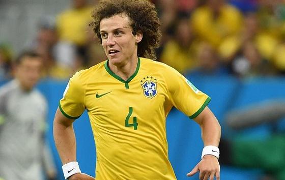 David Luiz es Duda Para Brasil-Chile