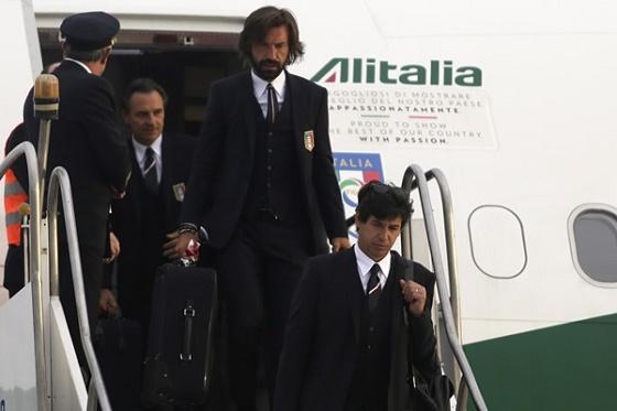 Italia y Holanda Llegaron Este Viernes a Brasil