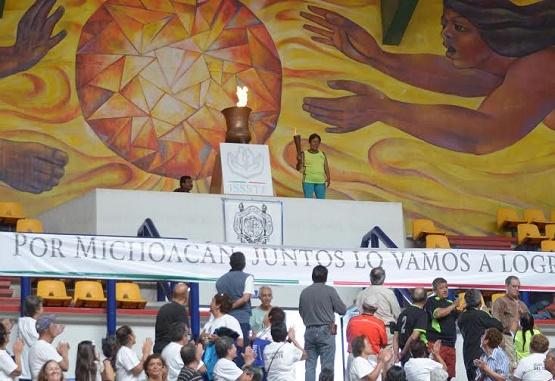 Morelia Recibe a Jubilados y Pensionados del DEPORTISSSTE