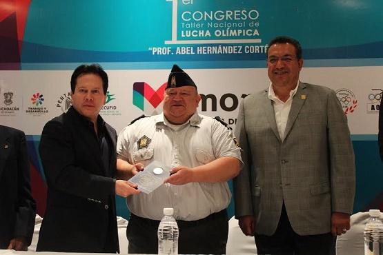 Arranca en Morelia el Primer Congreso Nacional de Lucha Olímpica