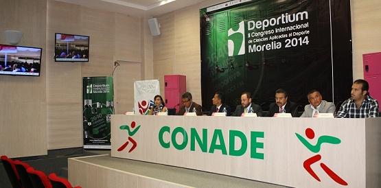 CONADE e IMDE Presentan la Segunda Edición de Deportium 2014