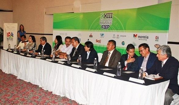 CONADE e IMDE Presentan XXIII Congreso Mundial de la Federación Internacional de Educación Física