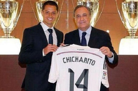 Real Madrid Fichó a 'Chicharito' Hernández