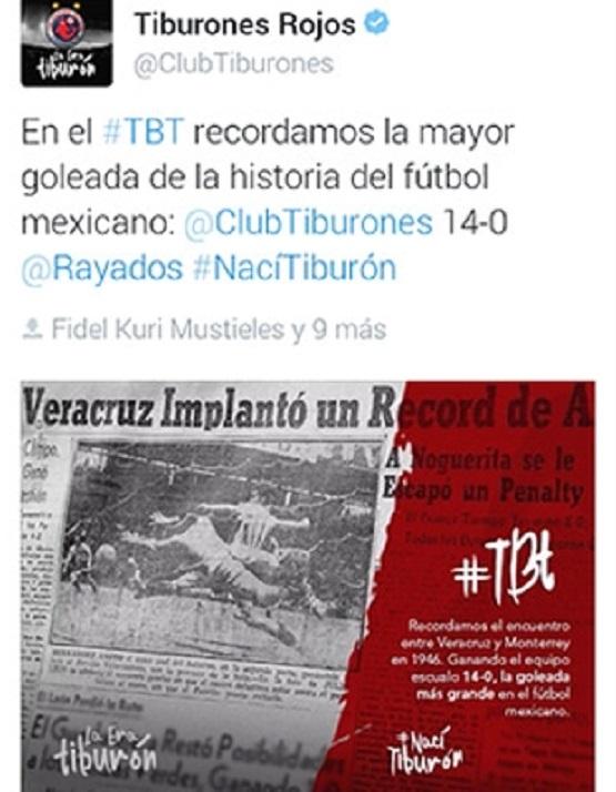 Recordó Veracruz Tragedia Rayada