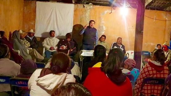 Debemos Fortalecer las Comunidades y Pueblos Purépechas: Juan Pablo