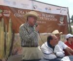 Presiden Autoridades del Sector Forestal de Michoacán Día Mundial Contra la Desertificación y la Sequía