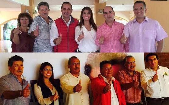 Profesores del Magisterio se Suman al Proyecto Político del PRI en Sahuayo e Hidalgo
