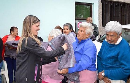 Niños y Discapacitados, Prioridad Para Daniela de los Santos