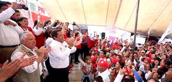 El PRI Llega Fortalecido a la Elección: Jaime Darío
