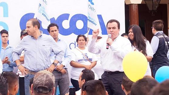 Exitoso Cierre de Campaña de José Eduardo Anaya Gómez y Luisa María Calderón