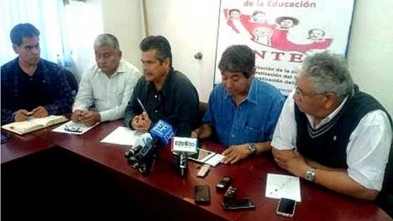 CNTE Abre Posibilidad de no Boicotear Elecciones