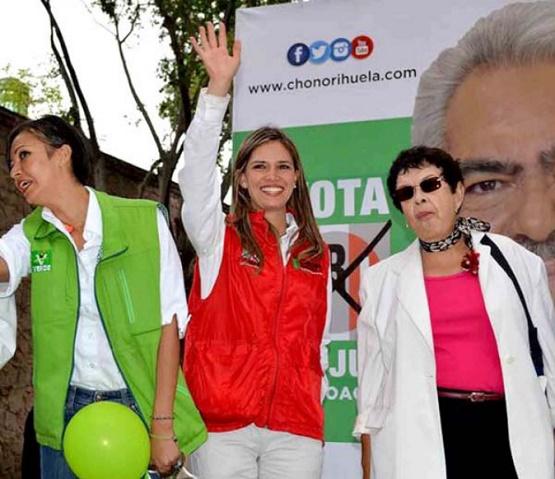 Aventaja Daniela de los Santos en la Diputación Federal