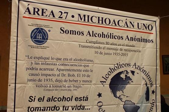 Alcohólicos Anónimos Festejan 80 Aniversario