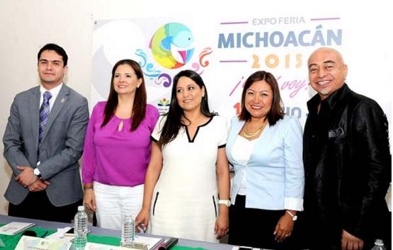 Gobierno del Estado Promueve la Expo Feria Michoacán 2015 a Nivel Nacional
