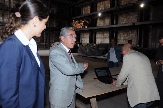 Salvador Jara Presenta el Proyecto del Teatro Matamoros al Comité Ciudadano Para el Seguimiento del Plan Michoacán