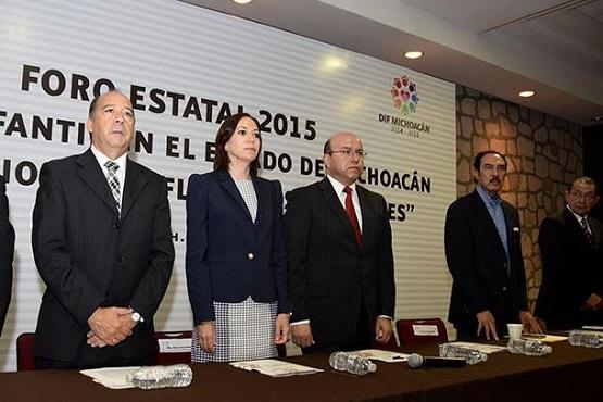 """Inauguran Foro Estatal 2015, Trabajo Infantil en el Estado de Michoacán """"Implicaciones, Reflexiones y Acciones"""""""
