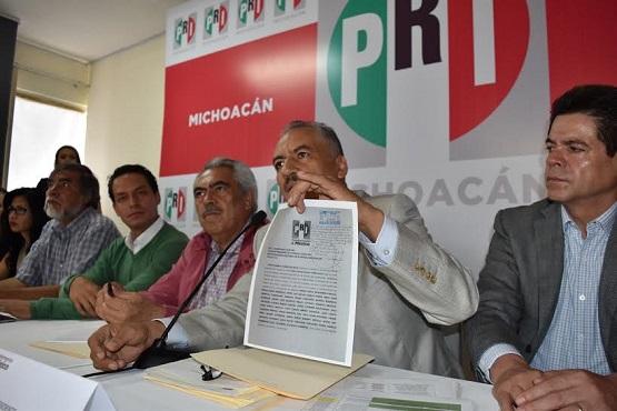 PRI Ratifica Judicialización del Proceso Electoral