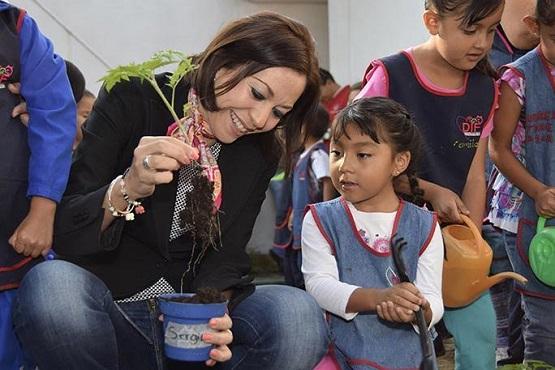 """Inauguran Huerto Escolar en CADI """"Las Margaritas"""""""