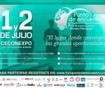 Anuncian 3er Punto de Encuentro Foro de Comercio Exterior, Michoacán 2015