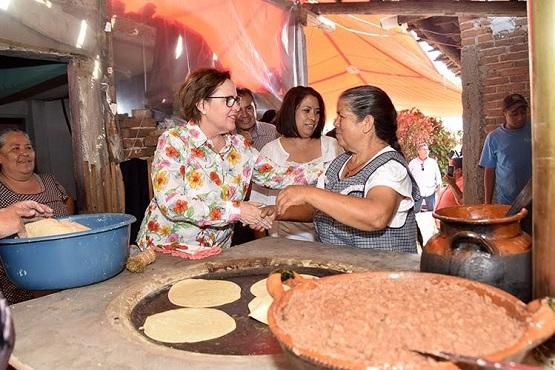 Inauguran Cocinas Ecológicas Para Familias de Irimbo