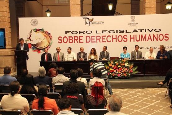 """Inauguran Legisladores """"Foro Legislativo Sobre Derechos Humanos"""""""