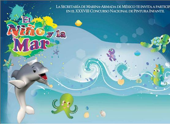 """Convocan a Participar en el Concurso """"El Niño y la mar"""""""