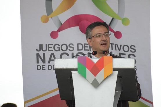 Deportistas Especiales, Rostro de la Fuerza de México: Abud