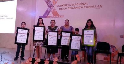 """Nueve Artífices Michoacanos son Reconocidos en el """"X Concurso Nacional de la Cerámica, Tonallan"""""""