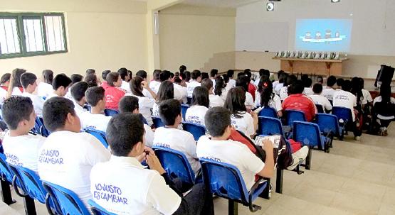 Organiza Secretaría Ejecutiva del Consejo Para el Nuevo Sistema de Justicia Penal en Michoacán Pláticas Informativas Para Estudiantes de Secundarias