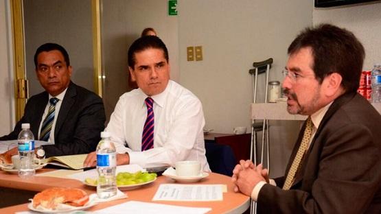 Recibe Silvano Aureoles Información de la Situación Financiera de Michoacán
