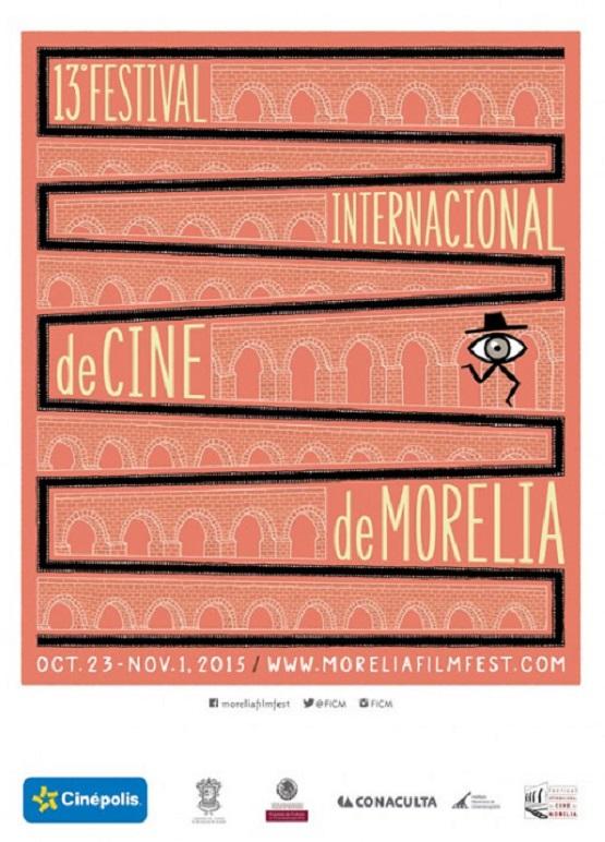 Presentan Imagen del 13 Festival Internacional de Cine de Morelia