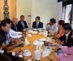 Se Reúne Silvano con Diputados y Ediles Electos de MC