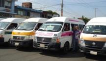 Piden Cambio de Modalidad en el Transporte