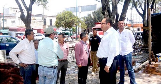 Presidente Municipal Supervisa Obras en Carrillo