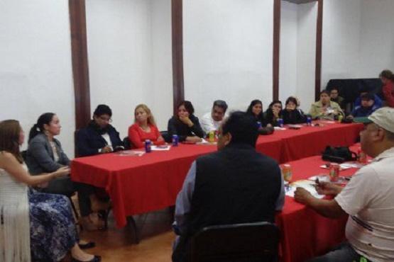 Imparten Taller a Periodistas de Uruapan Sobre el NSJP