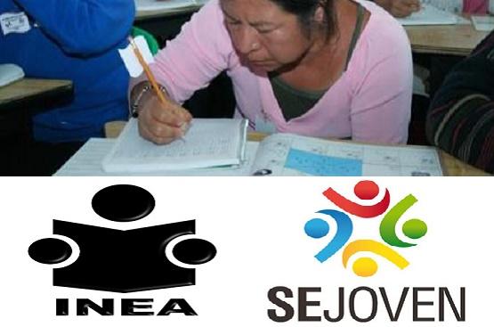 SEJOVEN e INEA Realizarán Acciones de Alfabetización