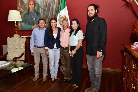 Gobernador Jara Reconoce a Michoacanos Ganadores del Premio Nacional de la Juventud 2015
