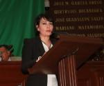 Celebra Ligia López Aprobación de Reformas a la Ley del Notariado del Estado, Propuestas por la Parlamentaria Albiazul