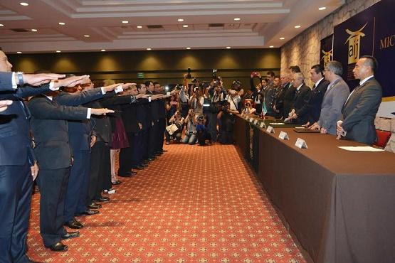 Toma Protesta el Consejo Rector del Estado de AIJM