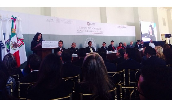 Michoacán, Presente en la X Reunión Nacional de Organos Implementadores